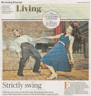 Swing Patrol in the Sunday Telegraph 30 August 2015